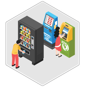 Industrial Applications of 4G Broadband Router - Vending Machine
