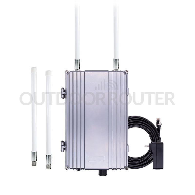 Solar-Battery Powered Outdoor 4G WiFi Router - Full Kit