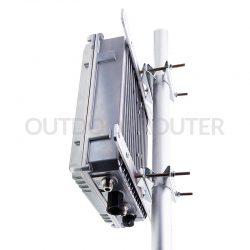 Solar-Battery Powered Outdoor 4G WiFi Router - Pole Installation