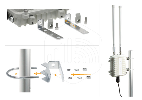 Mounting Kit and Tool for 4G Router
