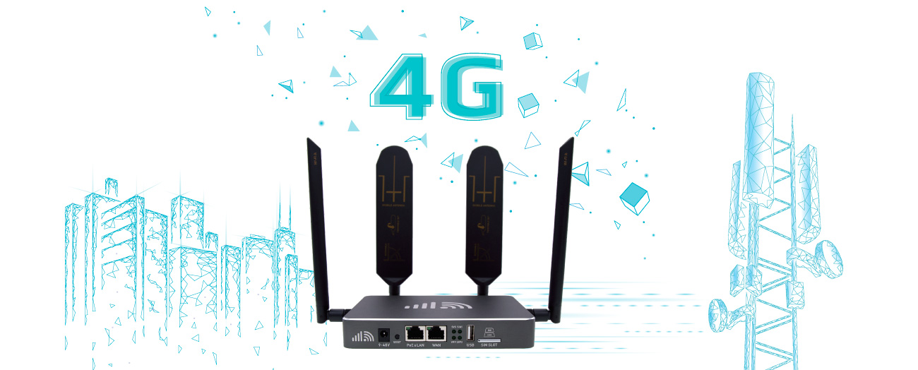 Indoor 4G WiFi Router with Broadband lTE Modem European