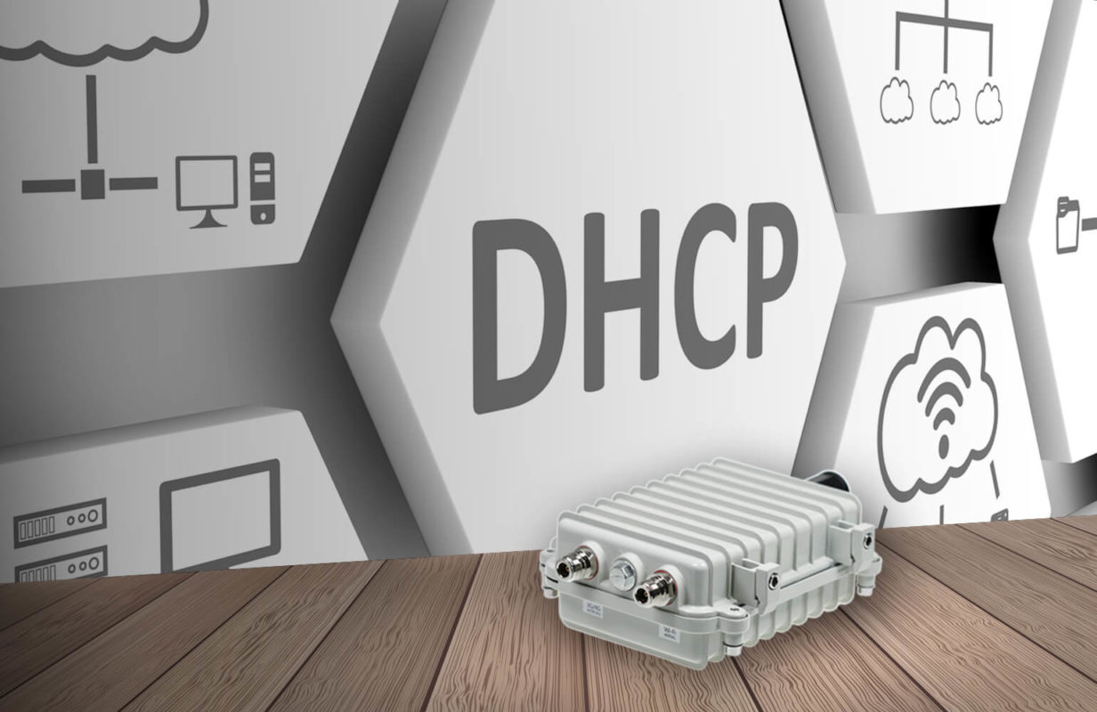 OutdoorRouter DHCP IP Configuration IP Pool